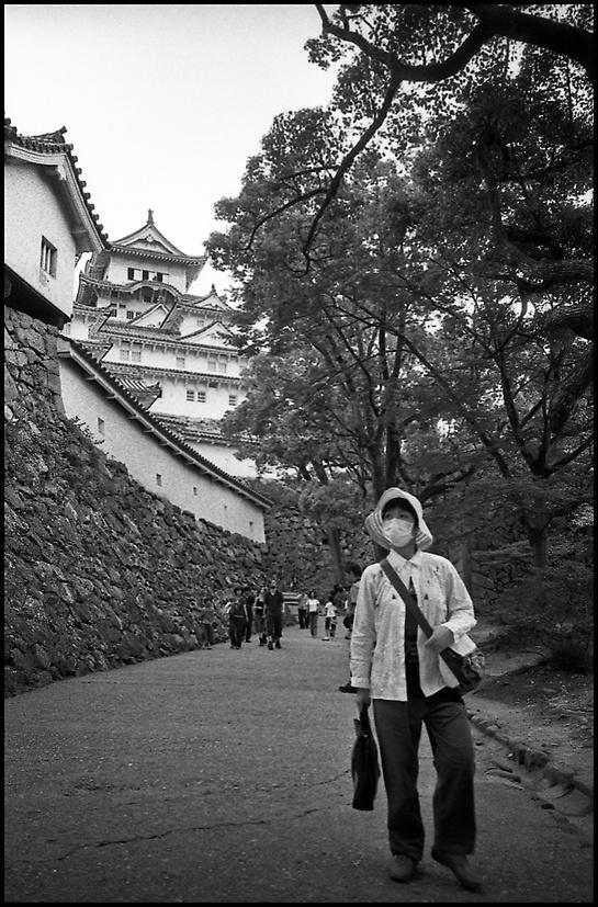Leaving Himeji jo
